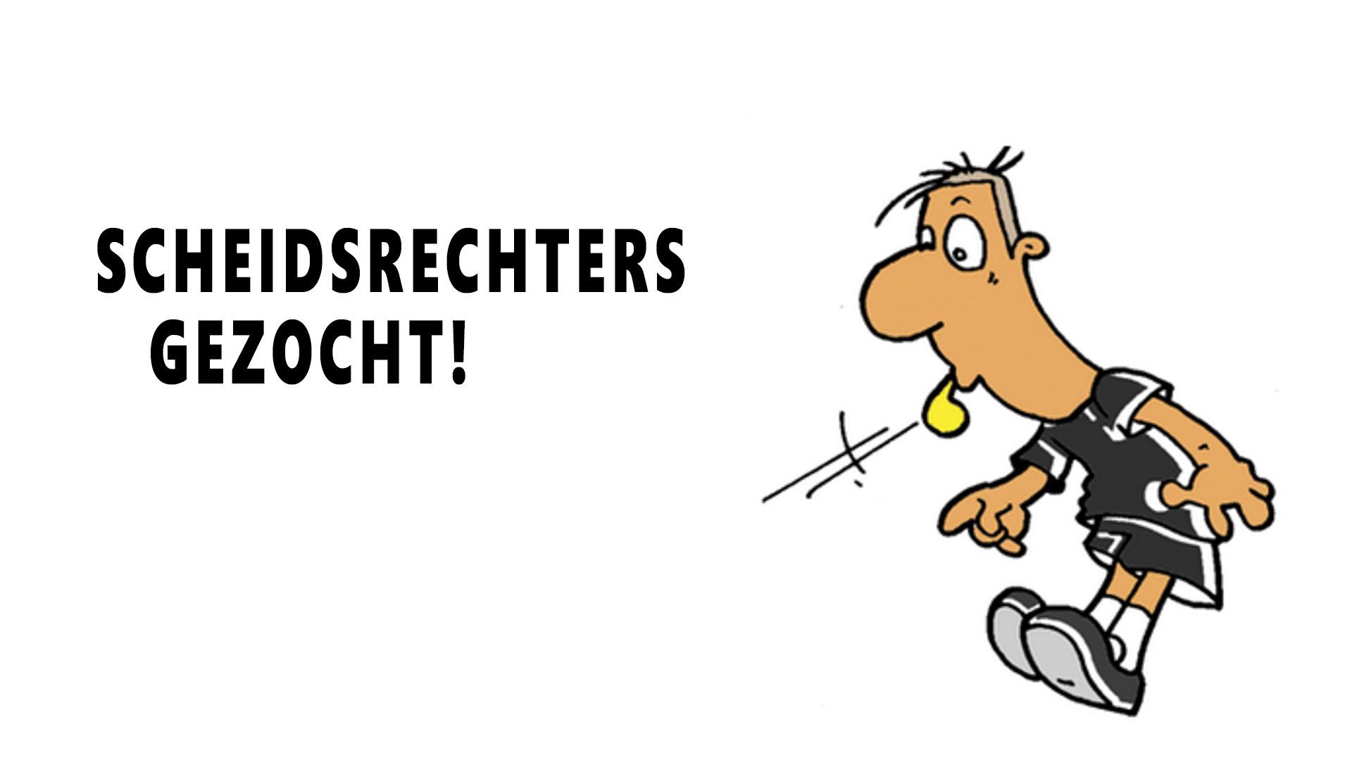 Scheidsrechters gezocht!